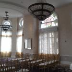 One of the ballrooms at The Georgian Terrace Hotel