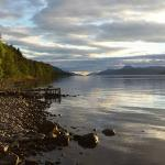 Loch Ness from Dores shore - 1 min from Pottery House