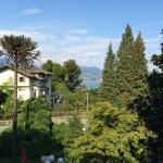 view of Lake Maggiore from our room balcony