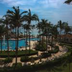 Riu Palace - View of quiet pool