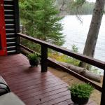 Deck within the cabin house