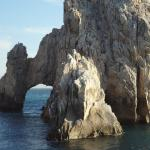 The famous Los Cabos Arch