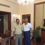 With Master Tailor Ajay Pradhan