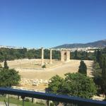 Temple of Zeus view from room