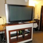 Large screen TV pivots