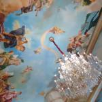 Painting on ceiling
