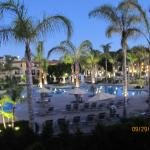 HGV MaBrisa view from balcony overlooking pool