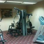 Small fitness center, but nice