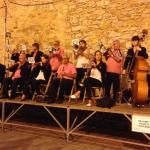 Musical festival in early September at Begur town central square