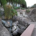 a nice little secluded spot for two at the pool