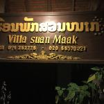 Guesthouse sign board