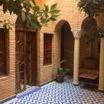 Small courtyard in front of a room