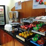 Continental breakfast - cereals, granola, fruits