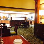 Continental breakfast - seating area