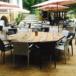 table ronde terrasse