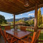 Breathtaking scenery of the Maluti Mountains to enjoy from your patio