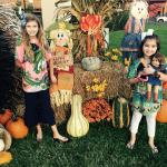 Fall decorations at Arbors