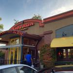 Saffron restaurant in parking lot