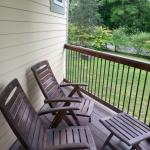 The Regal Suite - private outdoor deck