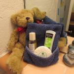 Hospitable bears everywhere ready to help us in comfort