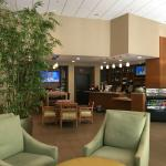 another lobby view - of coffee bar/front desk
