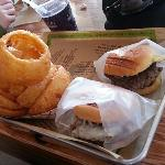 Burgers and Onion Rings