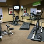 Exercise room, indoor pool and hot tub all a plus.  A very comfortable yet classy environment.