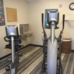 Fitness center.   Free laundry and the pantry area