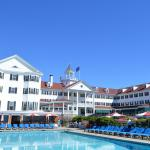 Hotel and pool