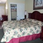 Bed and Small Closet in Rm 325