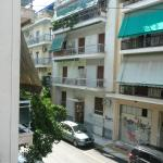 The view from the second bedroom, busy side street
