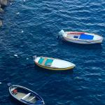Fishing boats at the little bay