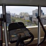 Exercising with a view