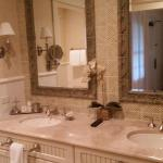 Double Sinks in Cottage Room