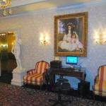 Lobby showing guest computer and decor