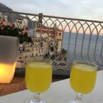 limoncello from the rooftop