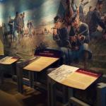 One of the many Museum displays