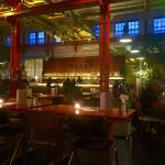 Close to the train and close to good food and bars!