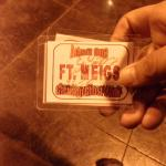 This is what a guest pass looks like..