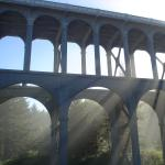Conde McCulloughs Cape Creek Bridge, great style and function