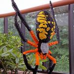 Spider made of Lego's