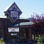 Hotel Estes from road