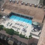 Pool from 15th floor.