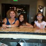 Five and Ten Bistro has great Wine and delish Lemonade for the lil ones.