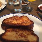French toast from the Wayfarer (included in bed and breakfast)