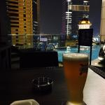 View from 28th floor pool side bar