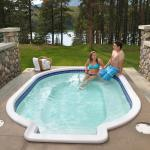 """Our """"sweet"""" outdoor hot-tub, great for """"chillin"""""""