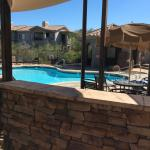 This is the pool area, as you can see it is very nice