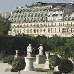 Le Meurice from Le Tuilleries Jardin