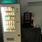 Vending machine available